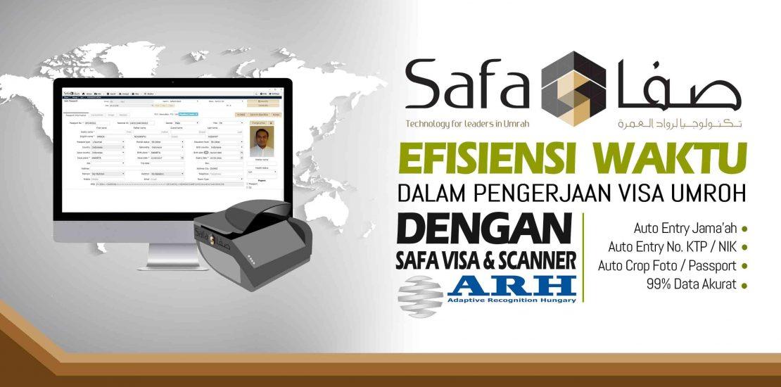 Kelebihan SafaVisa dan Scanner Passport ARH